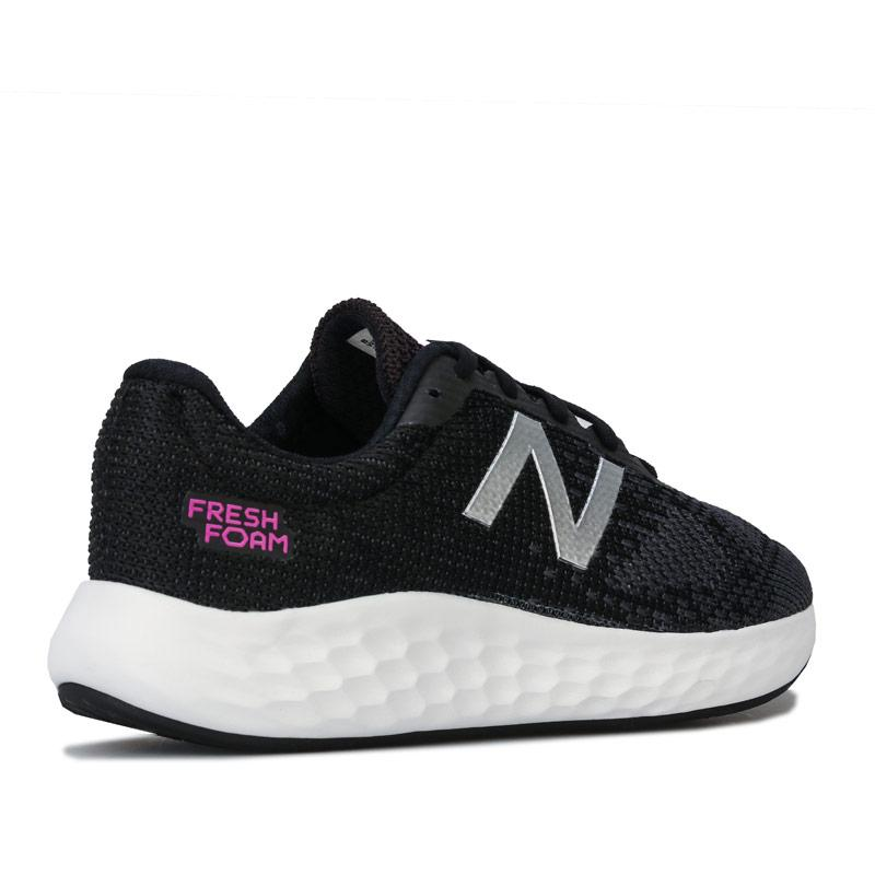 New Balance Womens Fresh Foam Rise Running Shoes Black
