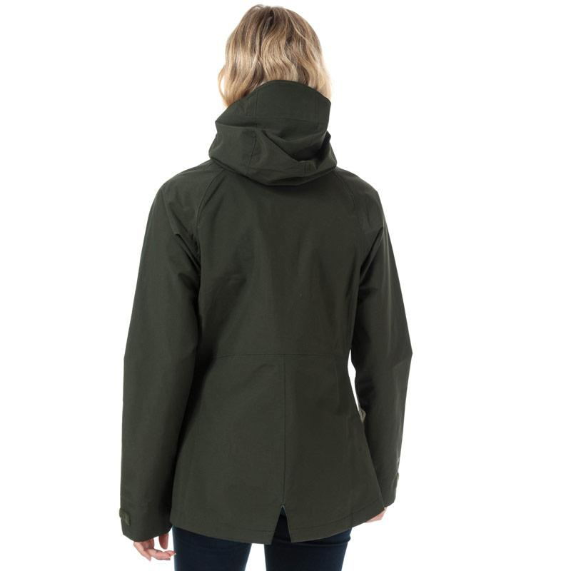 Berghaus Womens Katari Interactive Waterproof Jacket Green