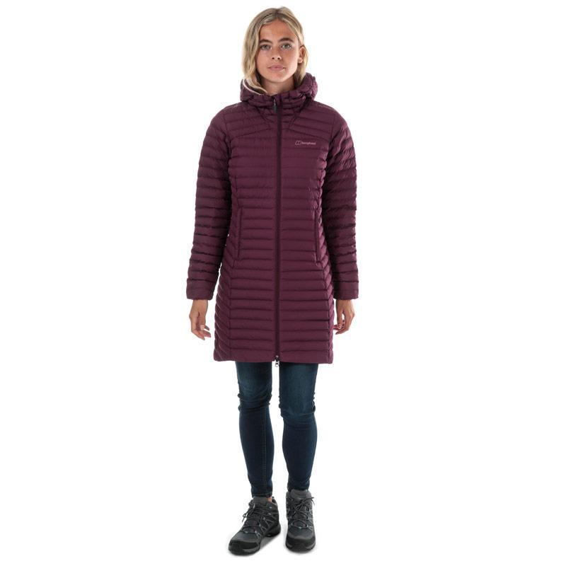 Berghaus Womens Nula Micro Long Jacket Purple