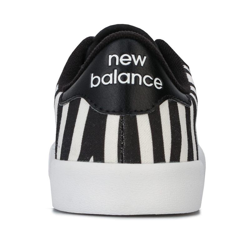 New Balance Womens Pro Court Trainers Black-White
