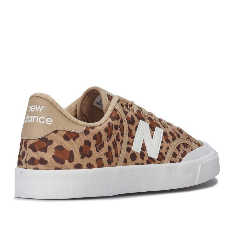 New Balance Womens Pro Court Trainers Leopard