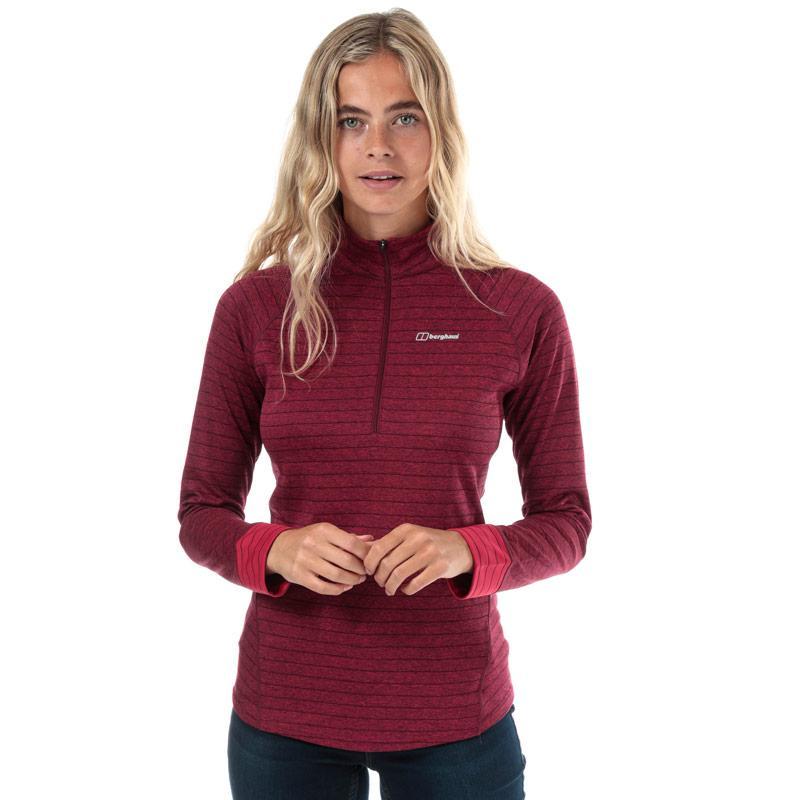 Berghaus Womens Thermal Tech LS Baselayer T-Shirt Pink