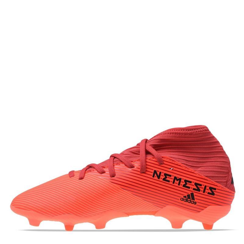 Adidas Nemeziz 19.3 Junior FG Football Boots SignCoral/Black