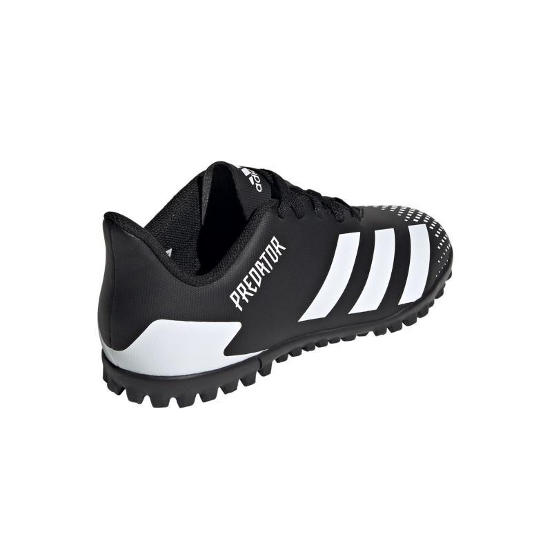 Adidas Predator 20.4 Childrens Astro Turf Trainers Black/White/Blk