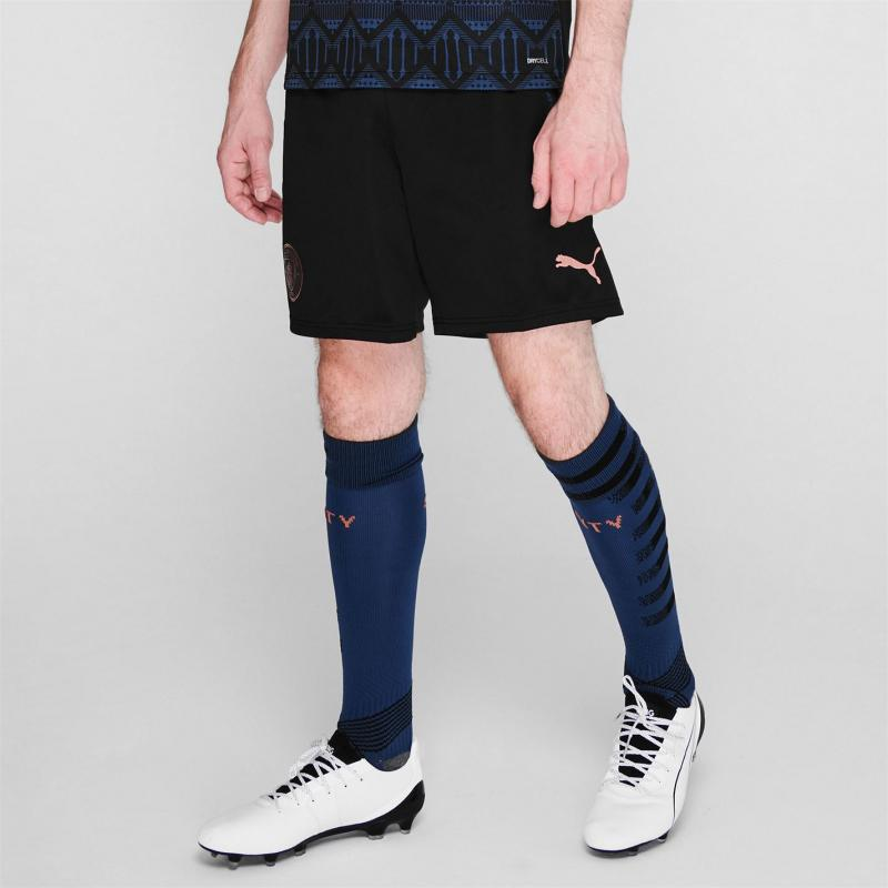 Puma Manchester City Away Shorts 2020 2021 Blue