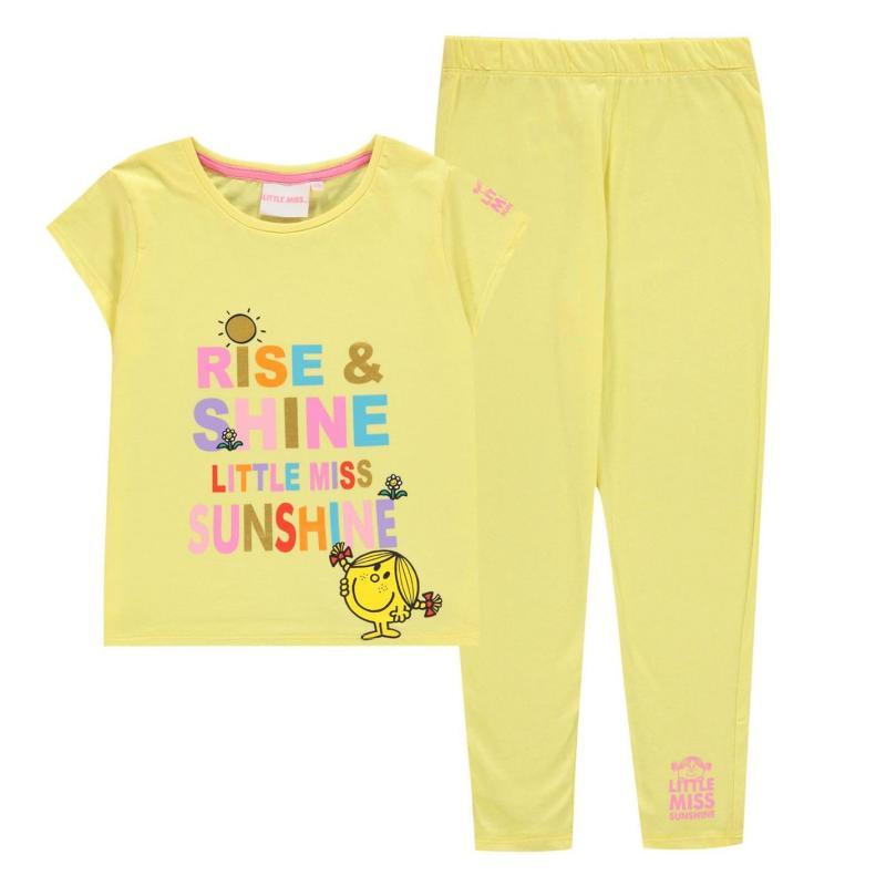 Character PJ Set Infant Girls Little Miss Sun