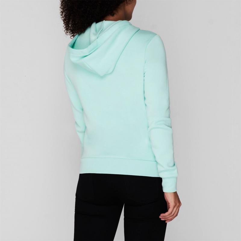 Mikina Converse Nova Zipped Hoodie Ladies Ocean Mint