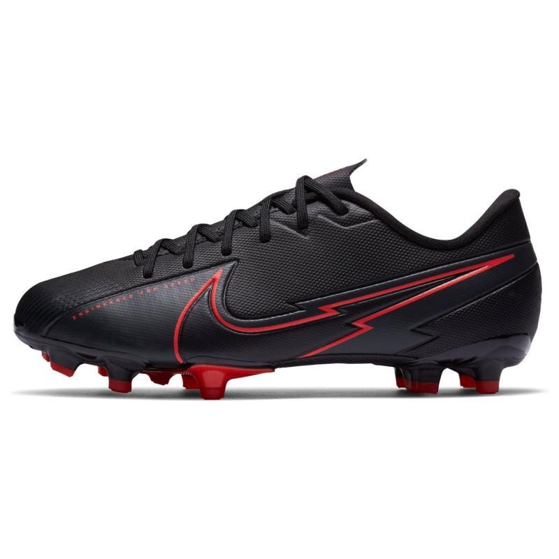 Nike Mercurial Vapor Academy Junior FG Football Boots BLACK/BLACK-DK SMOKE GREY