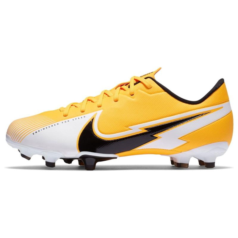 Nike Mercurial Vapor Academy Junior FG Football Boots LASER ORANGE/BLACK-WHITE-LASER