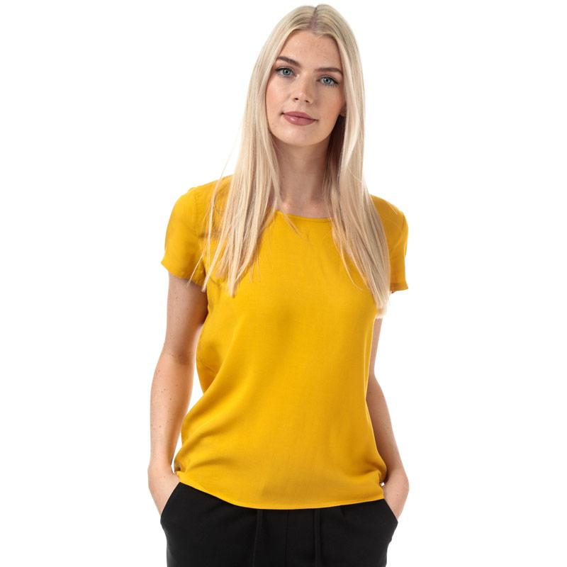 Only Womens First One Life Top Yellow