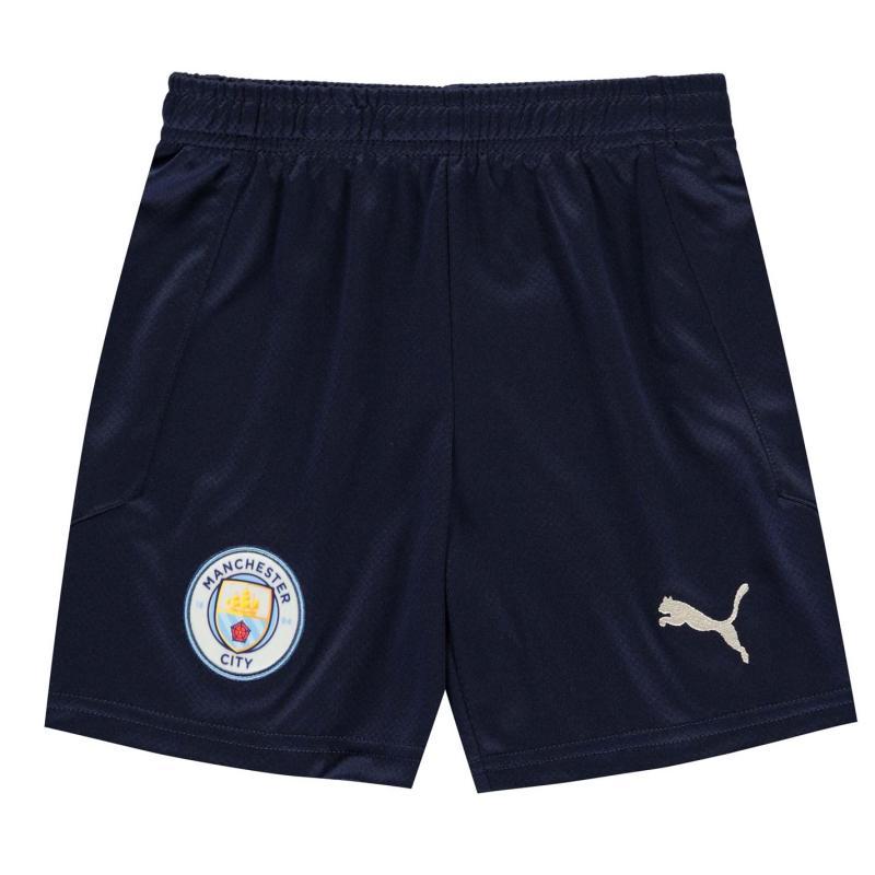 Puma Manchester City Third Shorts 2020 2021 Junior Blue