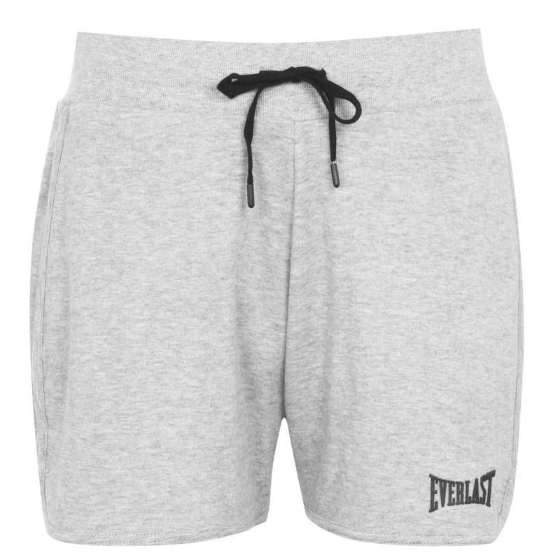 Everlast Logo Shorts Ladies Grey Marl