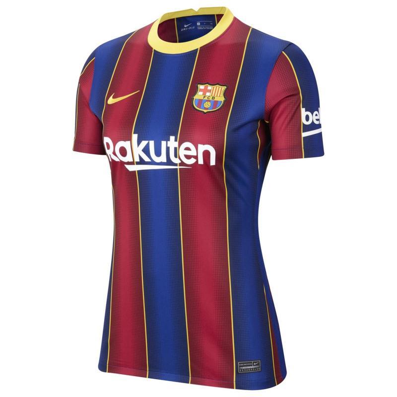 Nike Barcelona Home Shirt 2020 2021 Ladies DEEP ROYAL BLUE/VARSITY MAIZE