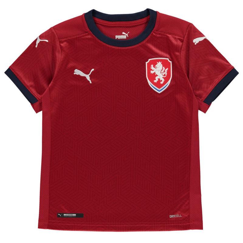 Puma Czech Republic Home Shirt 2020 Junior Red
