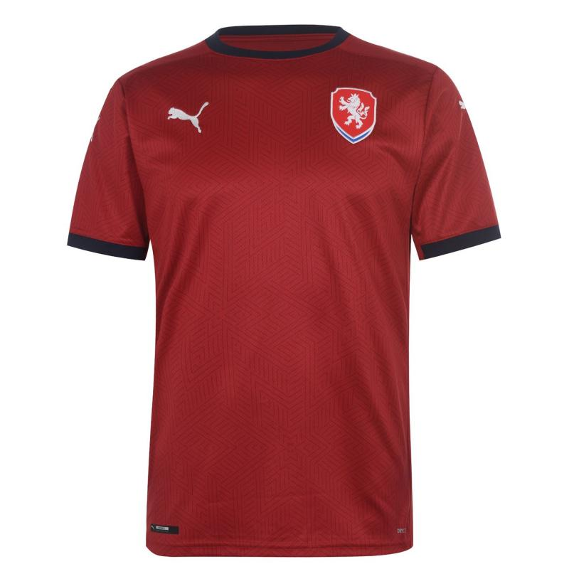Puma Czech Republic Home Shirt 2020 Red