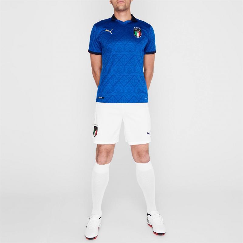 Puma Italy Home Shirt 2020 Blue