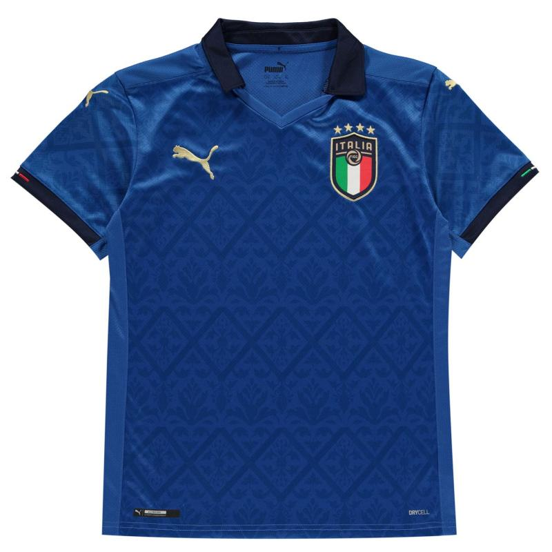 Puma Italy Home Shirt 2020 Junior Blue