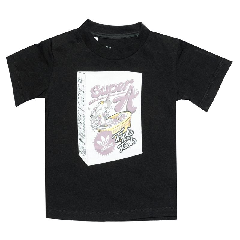Tričko Adidas Originals Infant Boys Graphic T-Shirt Black