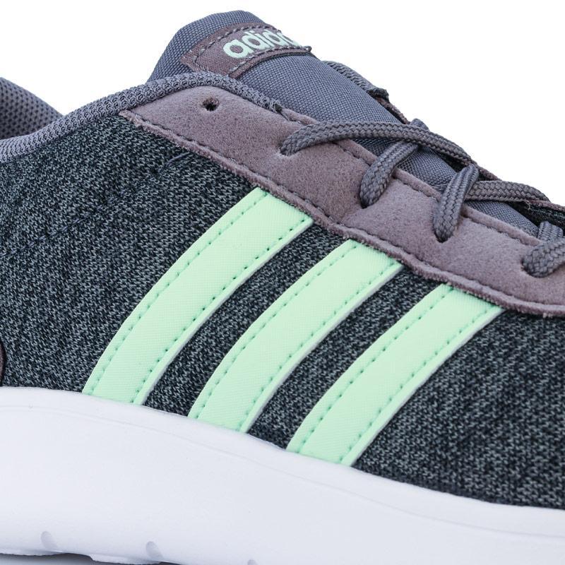 Adidas Junior Lite Racer Trainers Grey