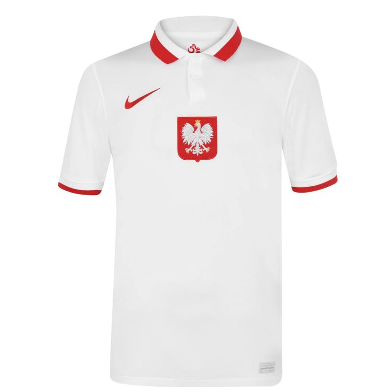 Nike Poland Home Shirt 2020 WHITE/SPORT RED