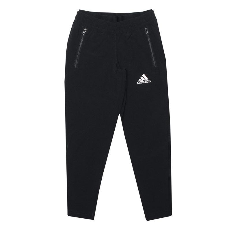 Adidas Infant Girls Slim Woven Pants Black-White