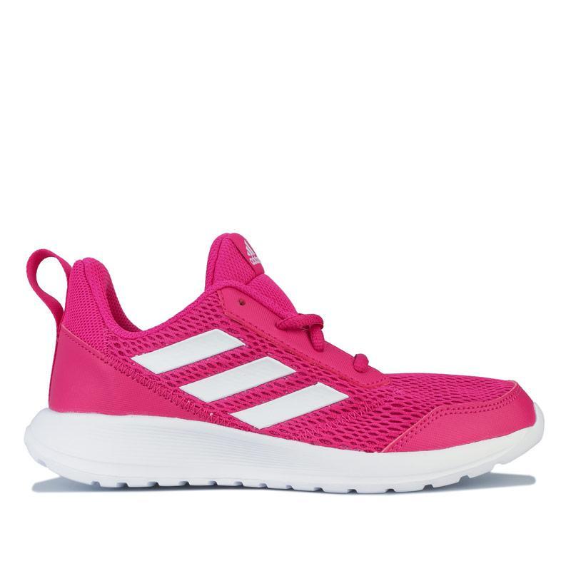 Adidas Junior Girls AltaRun Trainers Pink