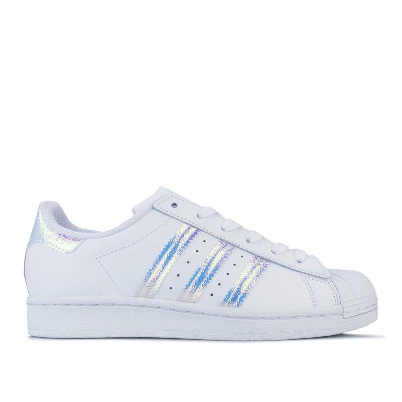 Adidas Originals Junior Girls Superstar Trainers White