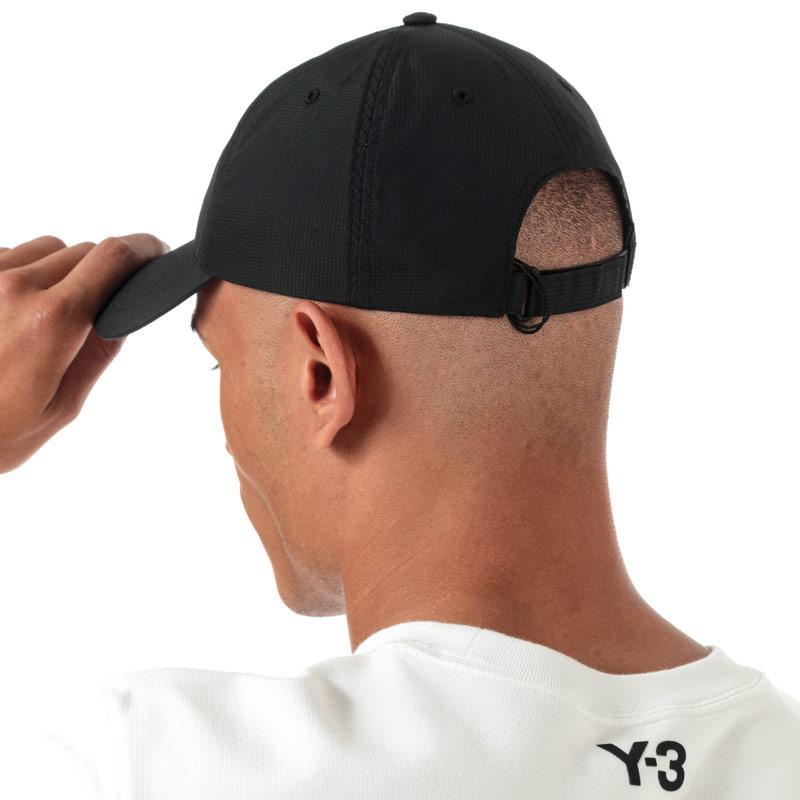 Y-3 Mens Ripstop Cap Black