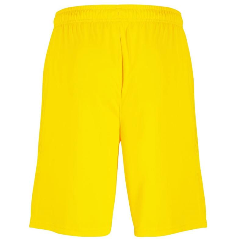Puma Newcastle United Goalkeeper Shorts 2020 2021 Cyber Yellow