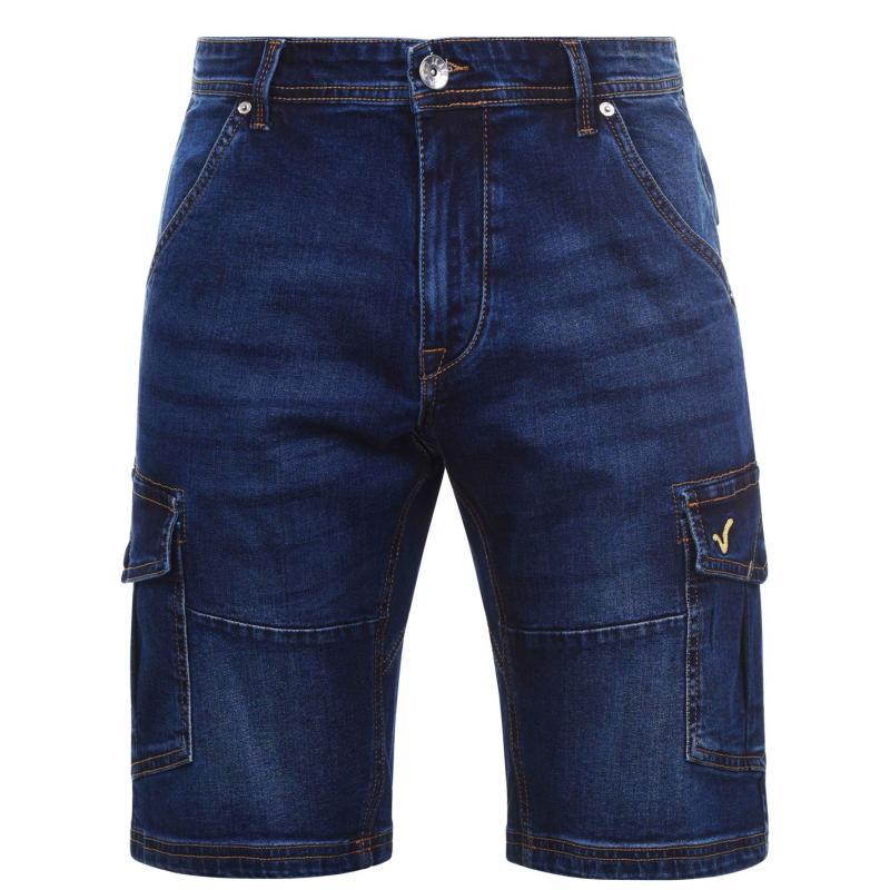 VOI Asta Shorts Mens Mid Wash