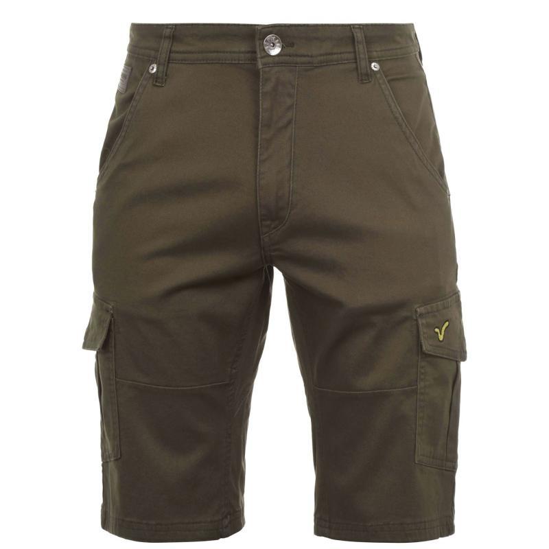 VOI Urbino Shorts Mens Khaki