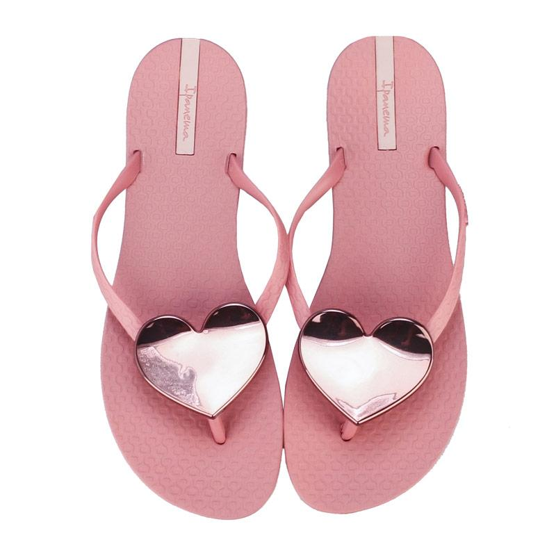 Boty Ipanema Womens Maxi Heart Sandals Pink