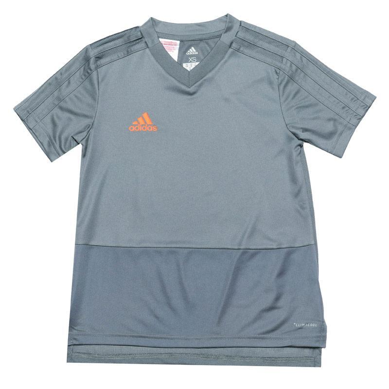 Adidas Infant Boys Condivo 18 Training Jersey Grey