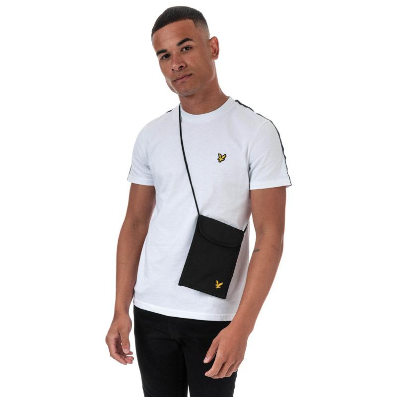 Lyle And Scott Mens Neck Pouch Black
