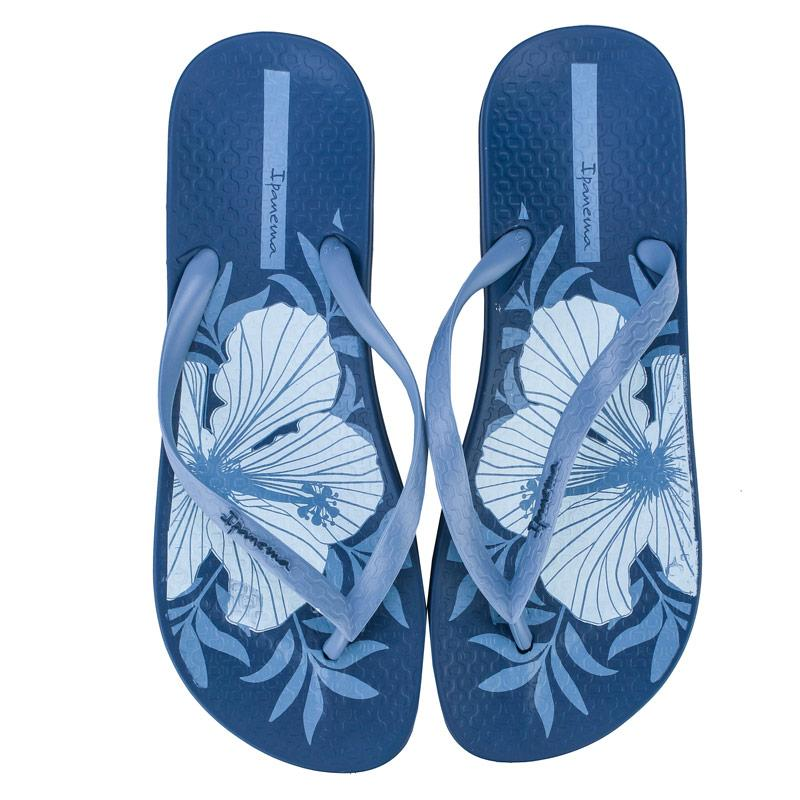 Boty Ipanema Womens Anatomic Temas Flip Flops Blue