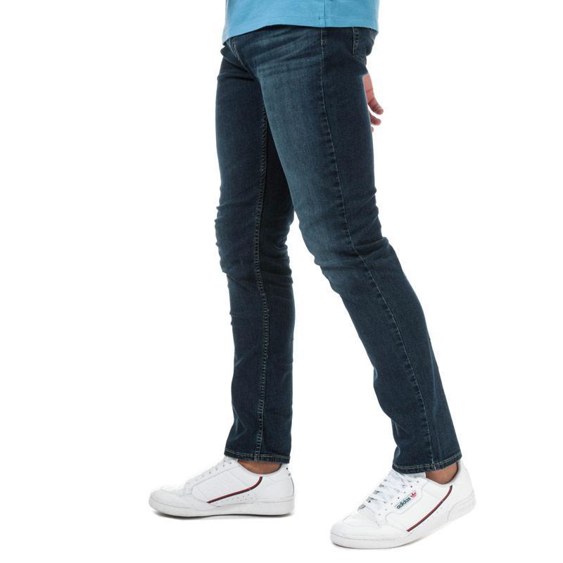Levis Mens 511 Slim Swanee Ship Cool Jeans Denim