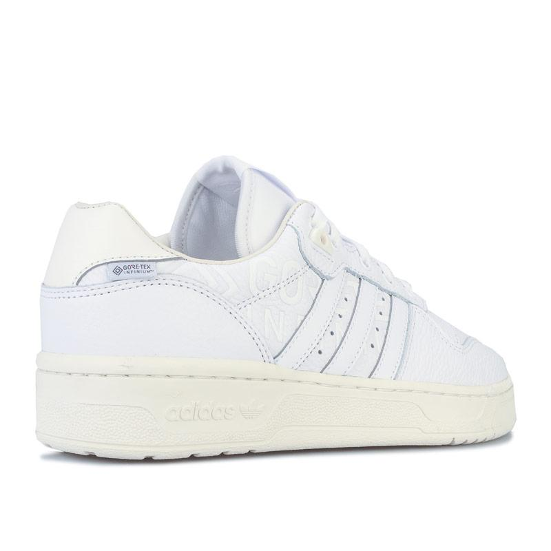 Adidas Originals Mens Rivalry Low GORE-TEX Trainers White