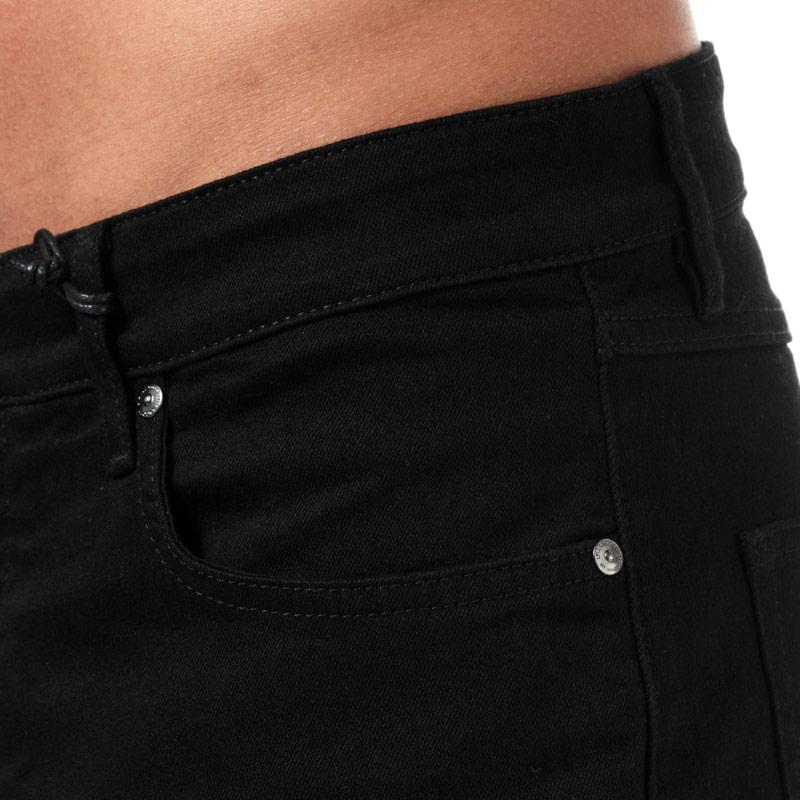 Lyle And Scott Mens Slim Fit Jeans Black