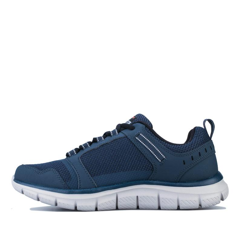 Skechers Mens Track Knockhill Trainers Navy