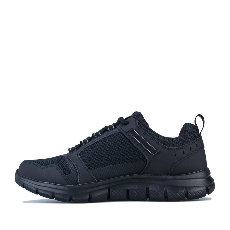 Skechers Mens Track Knockhill Trainers Black