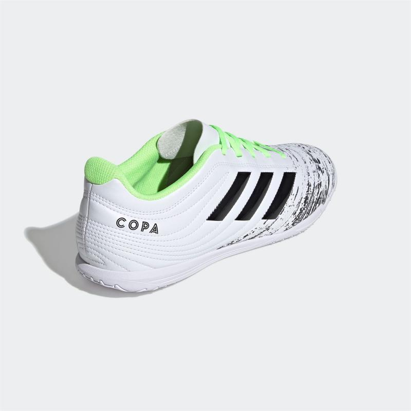 Adidas Copa 20.4 Indoor Football Boots Mens White/Blk/Green