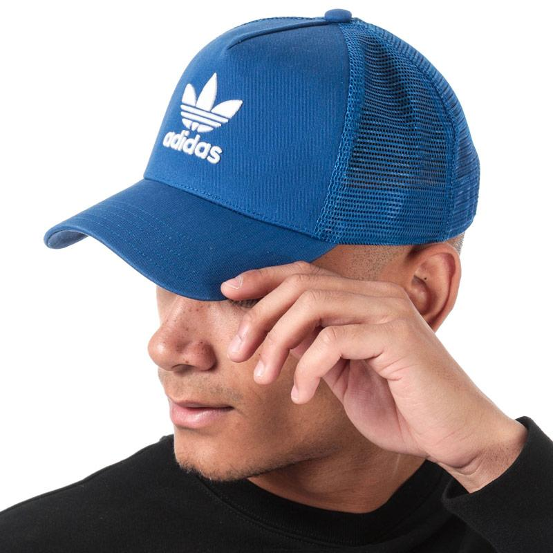 Adidas Originals Trefoil Trucker Cap Royal Blue