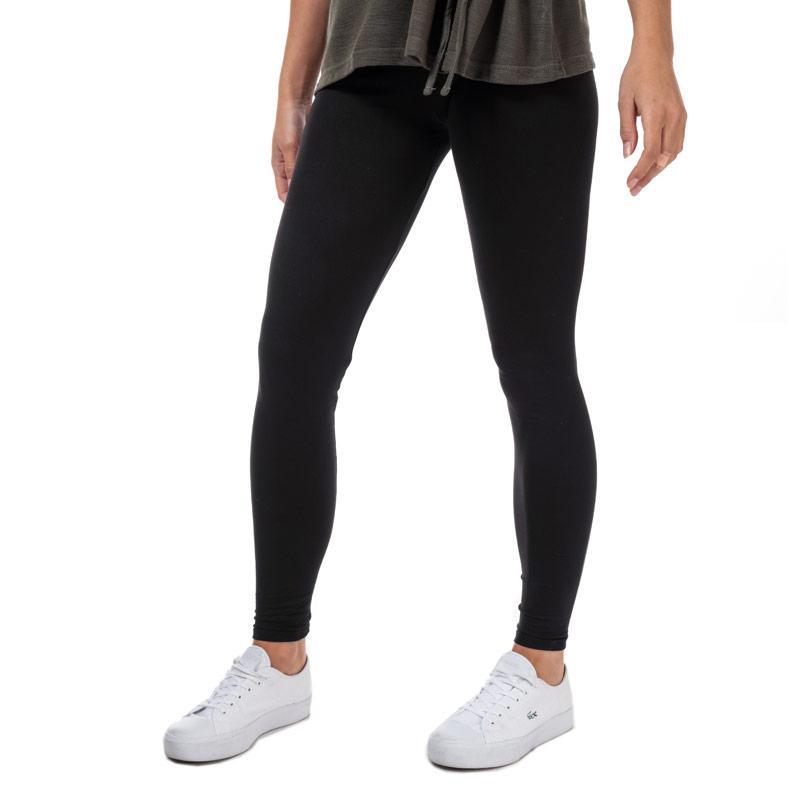 Legíny Brave Soul Womens Plain Leggings Black