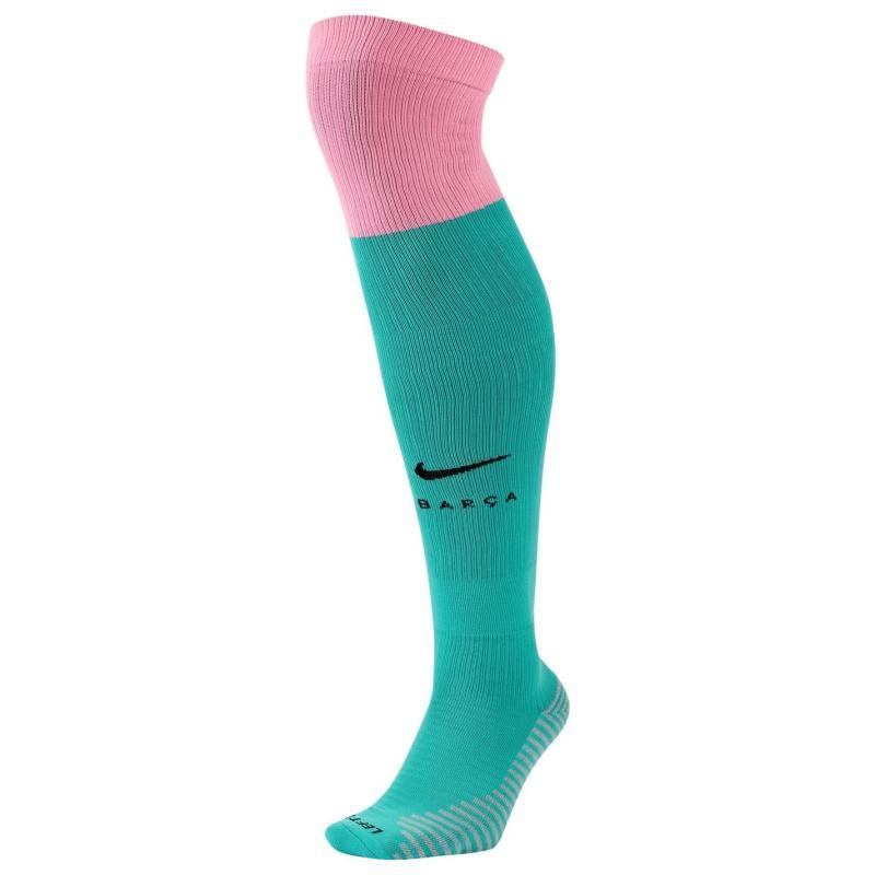 Nike Barcelona Third Socks 2020 2021 Green