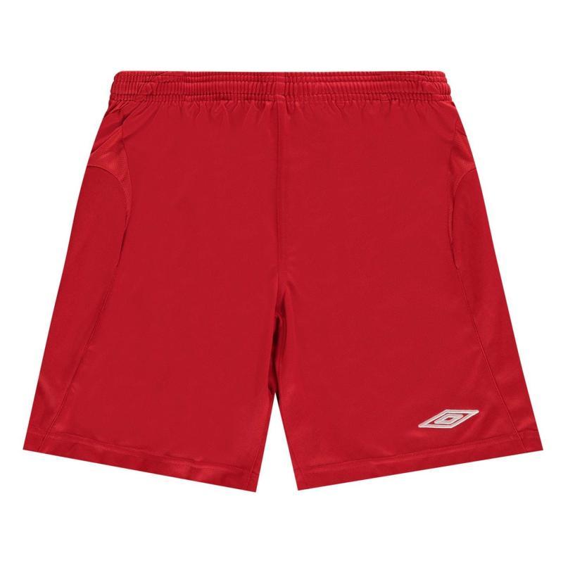 Kraťasy Umbro Team Football Shorts Vermillion