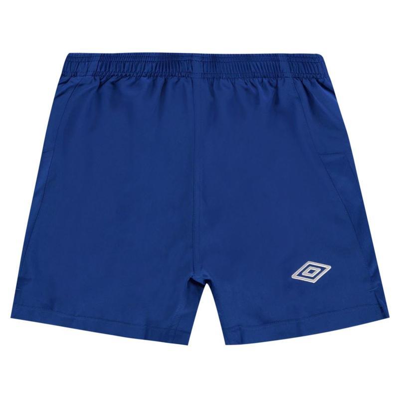 Kraťasy Umbro Team Football Shorts Royal/White