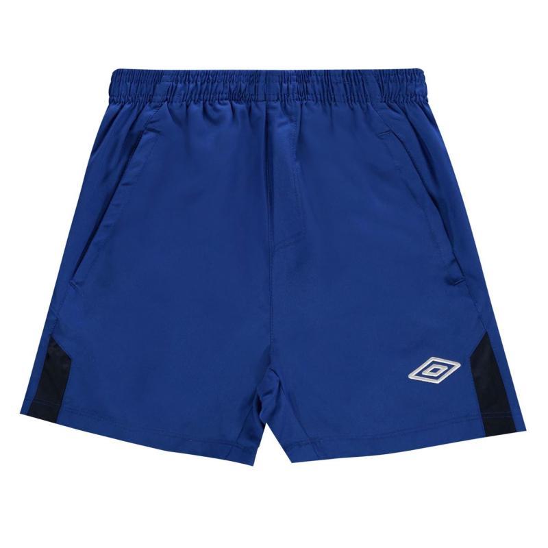 Kraťasy Umbro Team Football Shorts Royal/Navy
