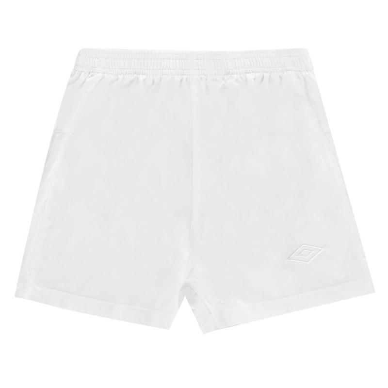 Kraťasy Umbro Team Football Shorts White