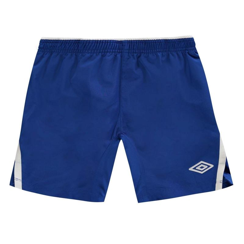 Kraťasy Umbro Team Shorts Junior Royal/White