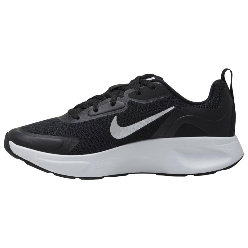 Nike Wearallday Trainers Womens BLACK/WHITE